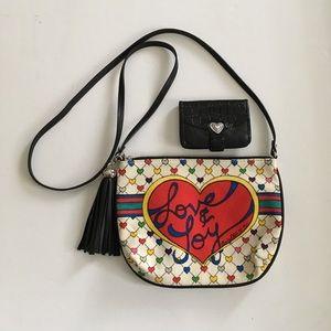 Brighton Love & Joy Crossbody & Black Wallet